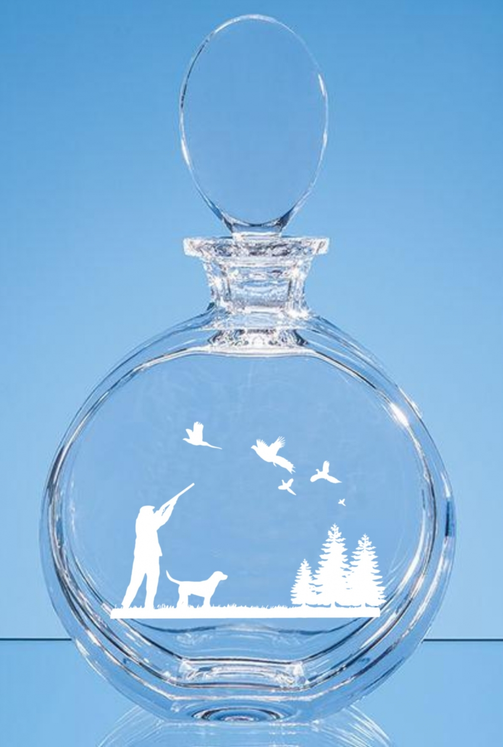 crystal jr31 decanter with engraving