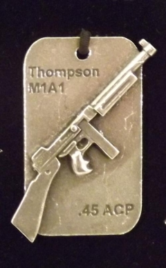 gun tag key rings