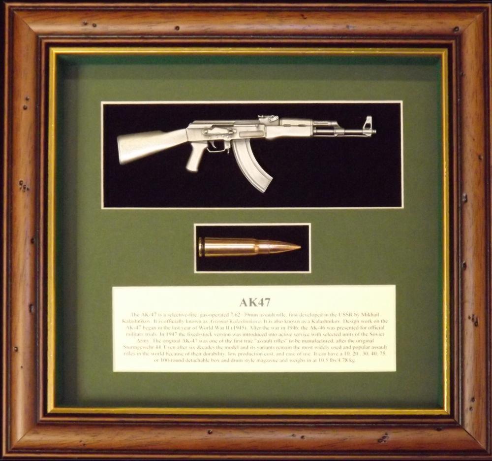 Wall mounted 1/6th miniature replica pewter guns