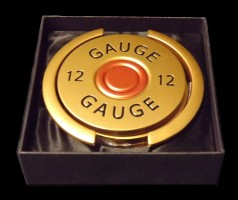 Shotgun Cartridge Drinks Coasters