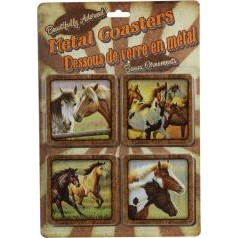 Horse Coasters 4 Pc. Set