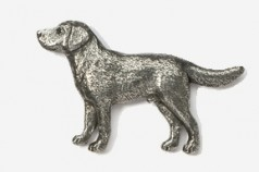 Pewter Dog Pins I to Z