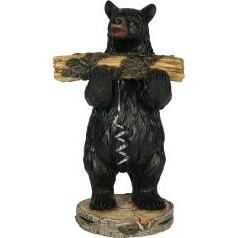 Bear Cork Screw Holder