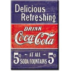 USA Tin Signs inc. Coke