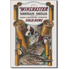 Remington, Winchester, S&W Tin Signs