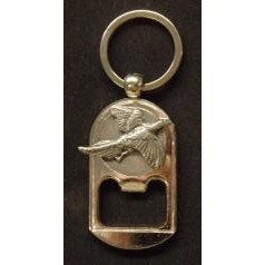 Pewter Animal Keyring/ Bottle opener