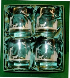 shooting Scene whisky Glasses